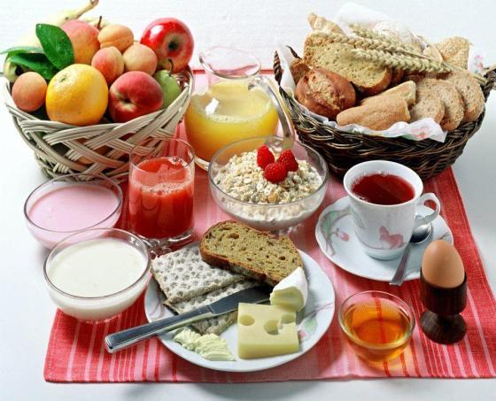 café da manhã saudavel