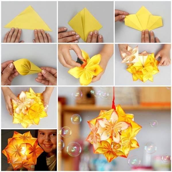 dica de artesanato origami